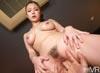 【VR】ダラダラ糸引く唾液 溢れる愛液 野性的SEX 鶴田かなの画像
