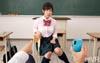 【VR】HQ60fps 優等生の裏の顔 パパ活の斡旋をする制服娘に孕ませ中出し制裁!の画像